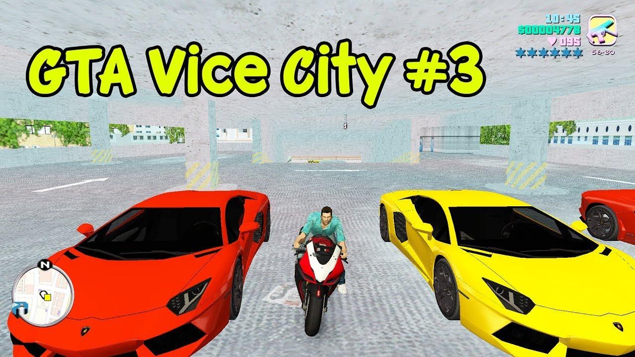 GTA Vice City Việt Hóa #3 – Anh giao Pizza siêu nhọ bị thủ tiêu | ND Gaming