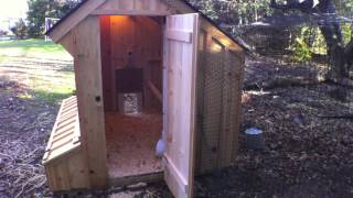Rated #1 Chicken Coop Solar Tour Design Upgrade Tips Urban How To Why Build Advice Automatic Door