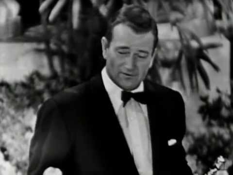 Gary Cooper winning Best Actor for