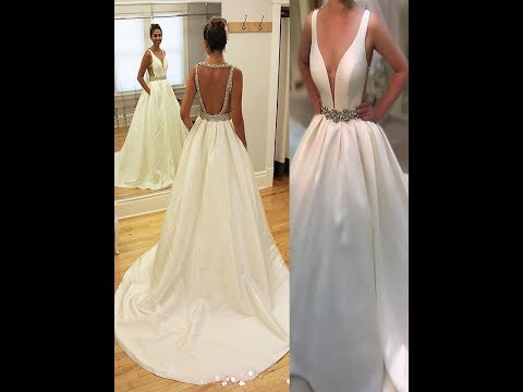 a-line/princess-satin-v-neck-sleeveless-wedding-dresses---hebeos