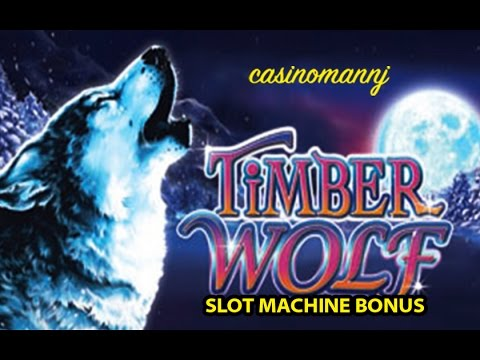 Timber Wolf Slot Nice Bonus Slot Machine Bonus Youtube
