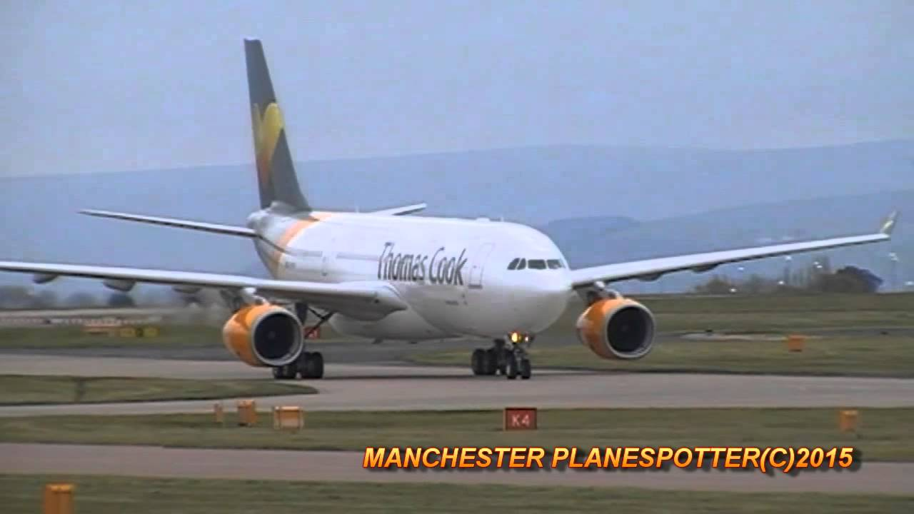 New Thomas Cook A330 G Vygk On Tcx169 Taxing Taking Off
