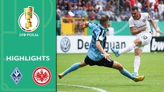 Rebic hattrick in comeback win | Mannheim vs. Frankfurt 3-5 | Highlights | DFB Cup | 1st Round