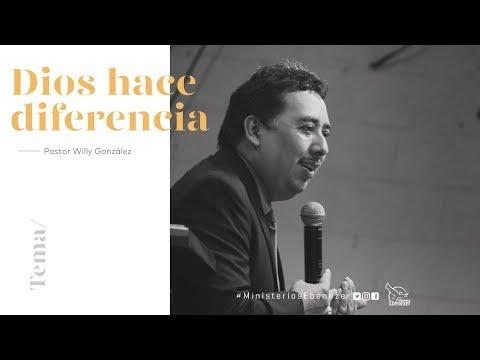 Dios hace diferencia - Pastor Willy González - miércoles 20/09/2017