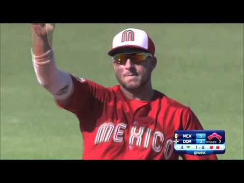 2015 WBSC Premier12:Dominican Republic vs Mexico Highlights Game 25