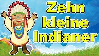 10 Kleine Indianer Kinderreim Für Kinder Zehn Kleine Indianer Zusammenstellung Deutsch