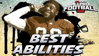 All Pro Football 2K8 Best Abilities For Each Position