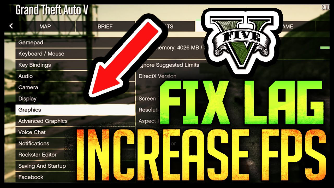 How to Fix GTA 5 PC Lag Tutorial - INCREASE YOUR FPS!::