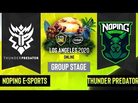 Thunder Predator vs NoPing eSports vod