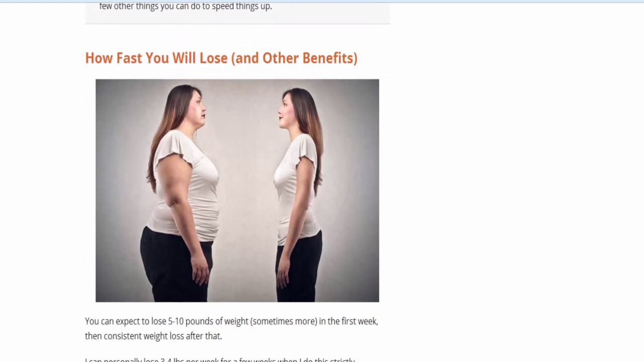 how to lose weight fast for women in a week at home tap this