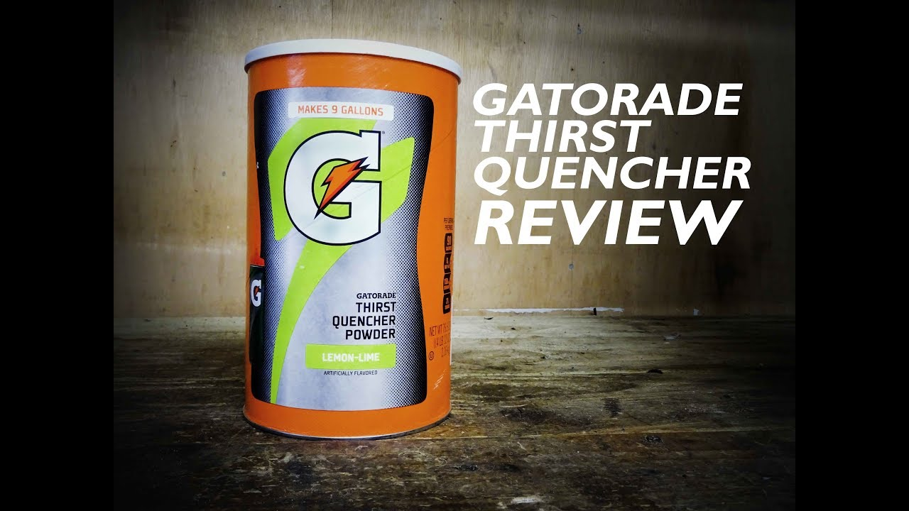 48d39124b11237 Gatorade Thirst Quencher Review Pinned TV - YouTube