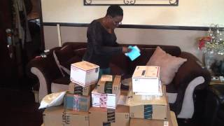 Auntie Fee opening Birthday gifts!