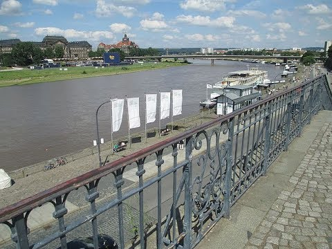 Places to see in ( Dresden - Germany ) Bruehl Terrace