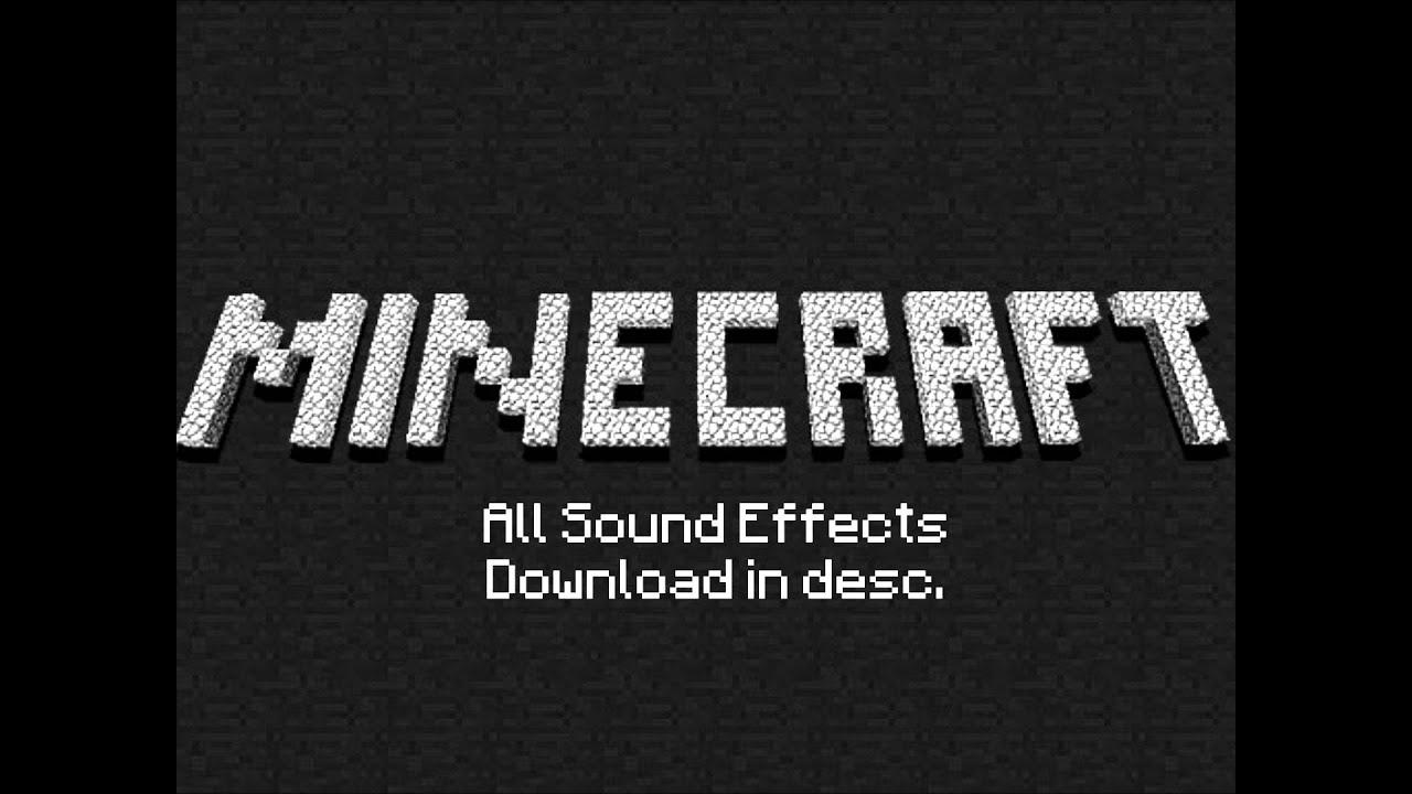 Minecraft Original Sound Effects - YouTube