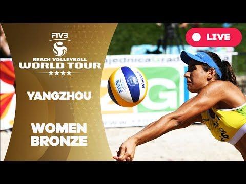 Yangzhou 4-Star - 2018 FIVB Beach Volleyball World Tour - Women Bronze Medal Match
