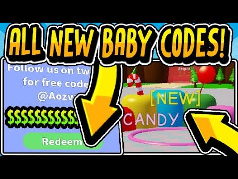 codes for baby simulator roblox 2019