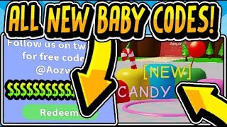"""🍬🍼all Baby Simulator Candyland Update 2 Codes 2019!!"" Baby Simulator Candyland Update 2  Roblox"