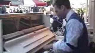 Jonny May plays Maple Leaf Rag on Main St.