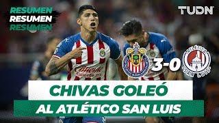 Resumen Chivas 3 - 0 Atlético San Luis | Apertura 2019 - Jornada 4 | TUDN
