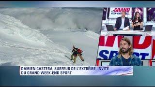 Damien Castera invité sur BFM sport