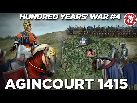 Battle of Agincourt 1415 - Hundred Years' War DOCUMENTARY