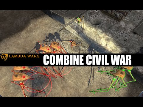 Lambda Wars Gameplay - Combine Civil War!