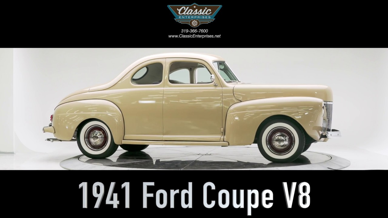 1941 ford business man 39 s coupe for sale startup studio shoot youtube. Black Bedroom Furniture Sets. Home Design Ideas