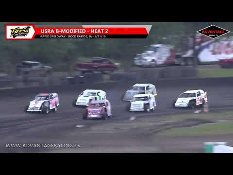 B-Modified Heats - Rapid Speedway - 6/21/19
