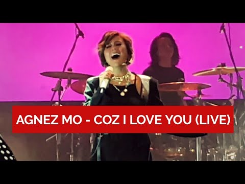 [FANCAM] AGNEZ MO - Coz I Love You At Konser Clear #SikatHabis