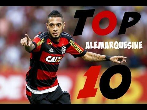 TOP 10 - GOLS MAIS BONITOS - FLAMENGO - BRASILEIRÃO 2015