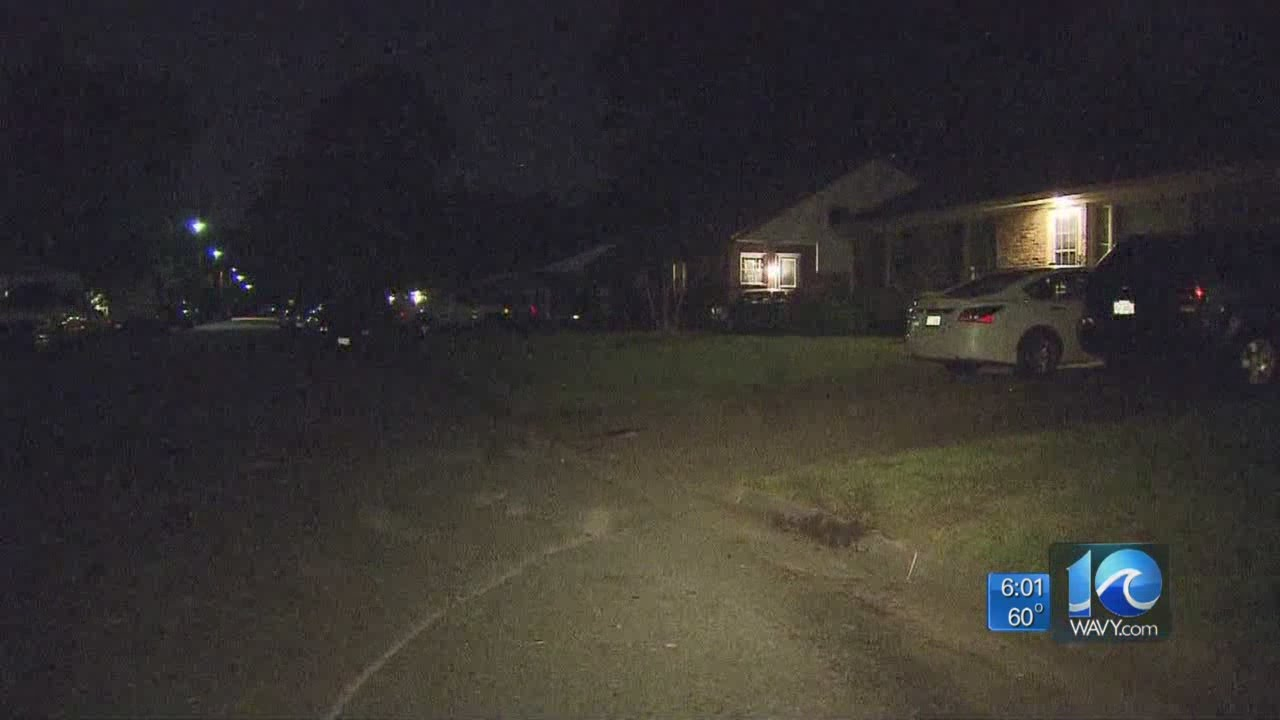car damages home following accident in newport news - youtube