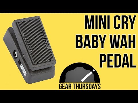 Mini Cry Baby Wah Pedal Demo || Cheap and Useful Guitar Pedals