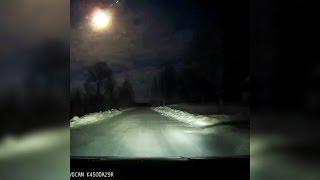 Метеорит на Рождество в Онеге (Архангельская область)