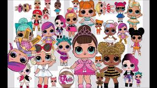 How many Lol dolls can you count in this picture? by Granny B.