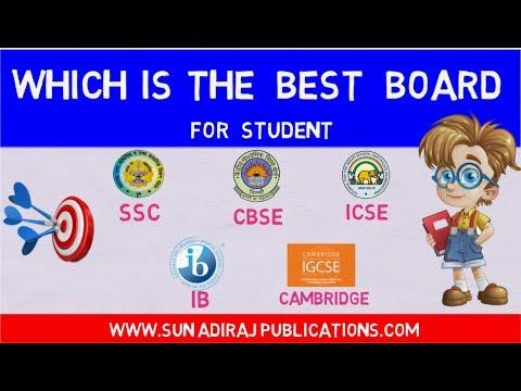 Which is the best board? CBSE Vs STATE BOARD Vs ICSE Vs IB Vs CAMBRIDGE Board | By Ravi Vare