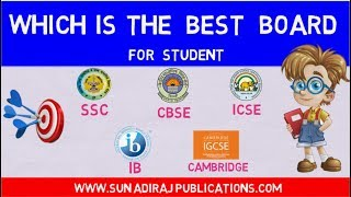 Which is the best board? CBSE Vs STATE BOARD Vs ICSE Vs IB Vs CAMBRIDGE Board | By Ravi Vare
