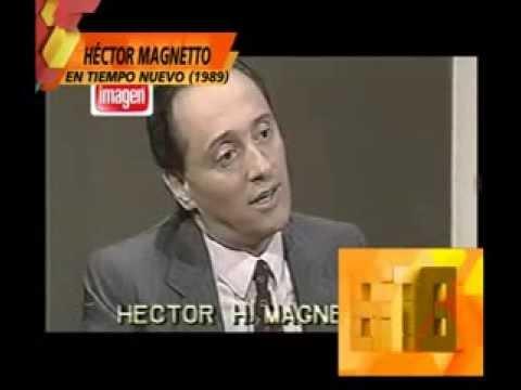 Héctor Magnetto en Tiempo Nuevo Neustadt en 1989