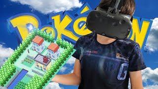 POKEMON DORP BOUWEN IN VR !! | Tiny Town VR ( HTC Vive )