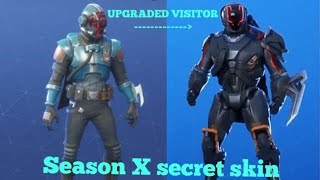 The *NEW* Season X secret Skin & What it is explained - Fortnite