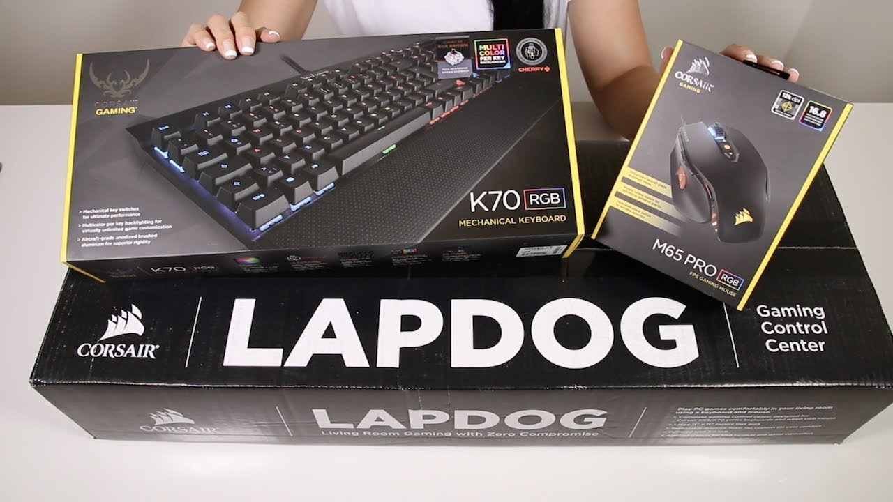 Unboxing And Assembling Corsair Lapdog