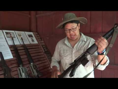 Small arms at the Cambodian War Museum