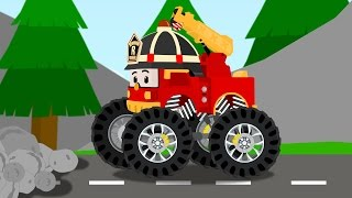 Robocar Roy Big Wheels Mini Cartoon