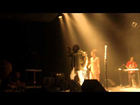 ANTHONY QUE Live backed by 149 BAND (HD) - Meditation Tour Oct 2012