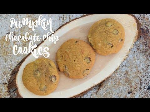 How To Make Pumpkin Chocolate Chip Cookies (Remake)