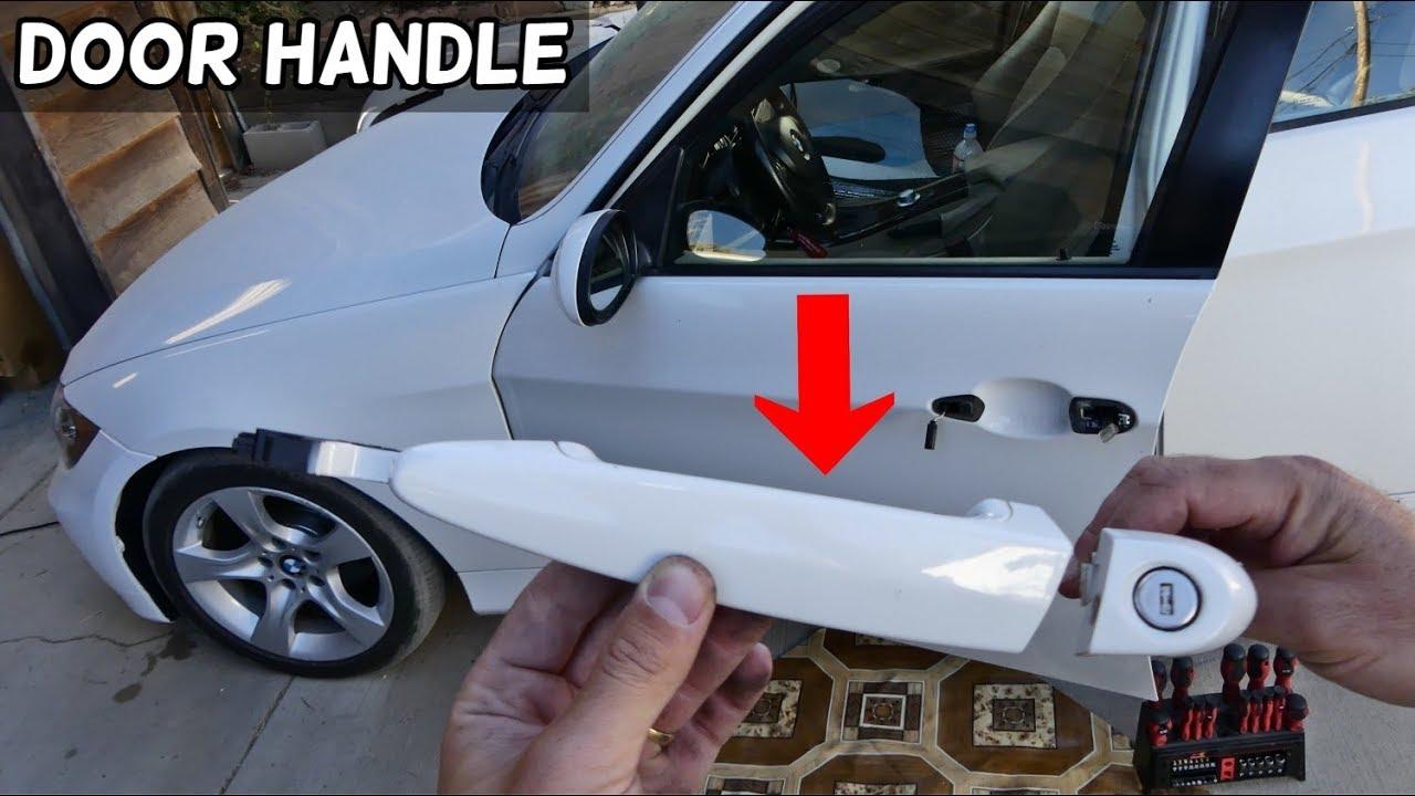How To Remove Or Replace Exterior Door Handle On Bmw E90 E91 E92 E93 Youtube