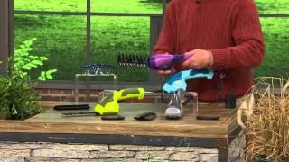 Sun Joe 7.2V Lithium-Ion Cordless Hedge Trimmer & Grass Shear with Dan Hughes