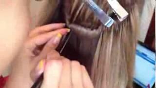 Итальянское наращивание волос в Донецке