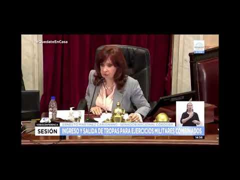 """""""¿Dónde está Bullrich?"""": el insólito cruce entre Cristina y el senador de Juntos por el Cambio"""