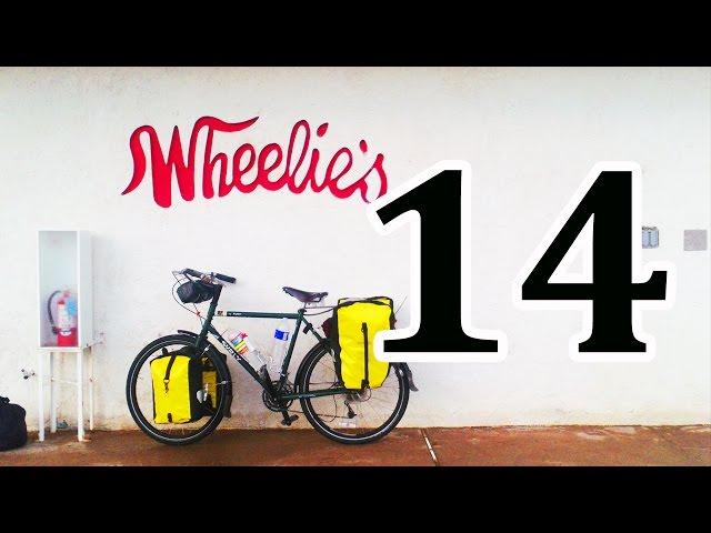 bicycle touring, Needles CA, Lake Havasu City AZ, Parker AZ, Blythe CA