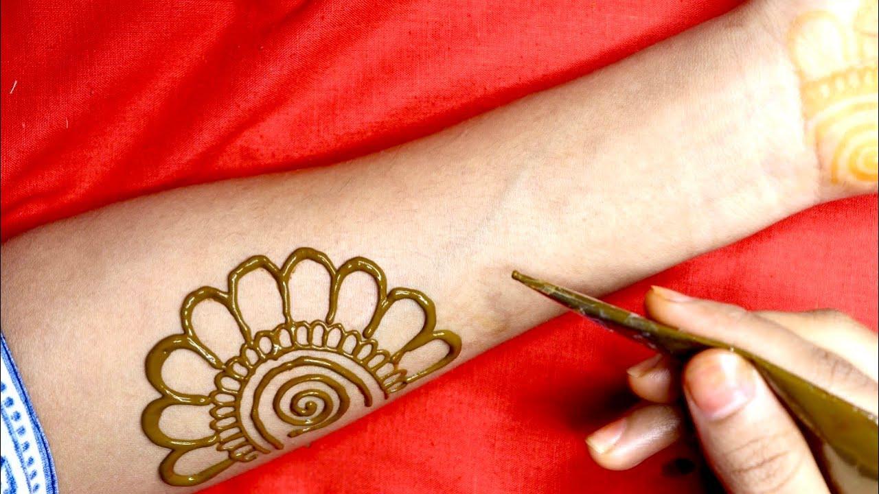 front hand arabic mehndi design 2021